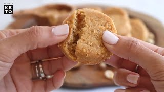 Soft and Chewy Keto Friendly Peanut Butter Cookies Recipe
