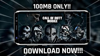 (100MB) Download Call Of Duty Mobile Highly Compressed On Android phone 2019   COD Mobile Download🔥