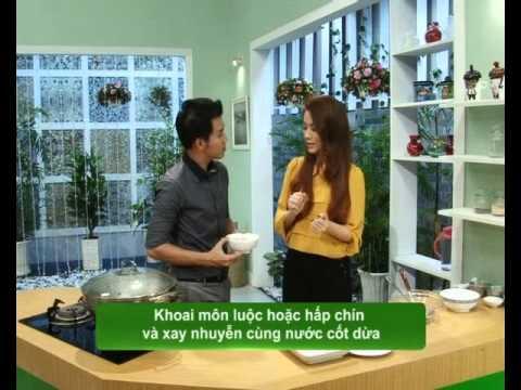 Bánh da lợn khoai môn - Món Ngon [HTV9 -- 17.11.2012]