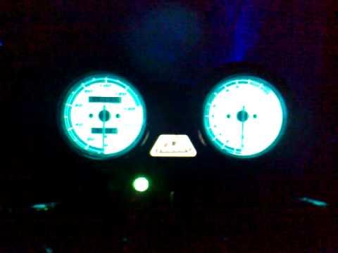 Yamaha YBR 125 con xenon 8k y tablero electroluminiscente!
