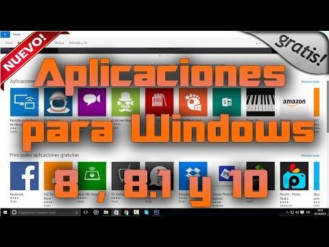 Aplicaciones para window 8 . 8 1 y 10   GRATIS