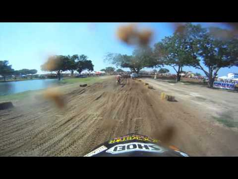 Shot 100% on the HD HERO® camera from http://GoPro.com. Catch the 2nd Round of Motocross action from the Lucas Oil AMA Pro Motocross at Freestone Raceway in Wortham Texas. Watch highlights...