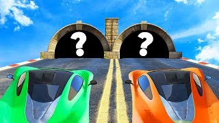 CHOOSE THE RIGHT TUNNEL OR DIE! (GTA 5 Funny Moments)