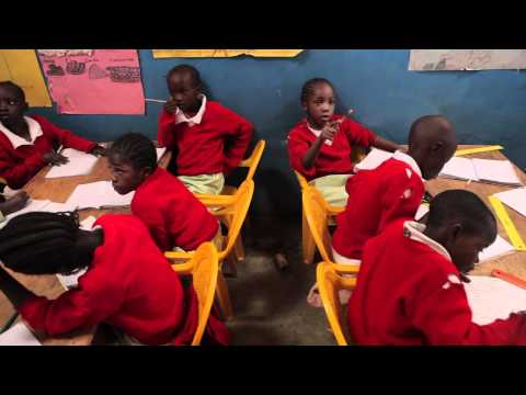 The Kibera School For Girls - I Know I Can video