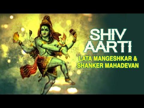 Shiv Aarti | Lata Mangeshkar Shanker Mahadevan