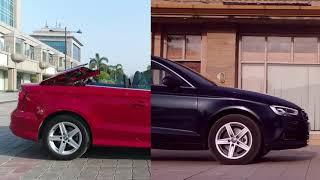 The Audi A3 Line up  Sun, Up