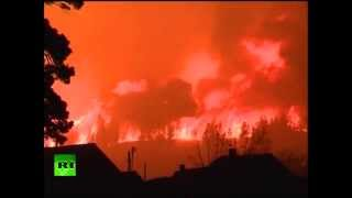 (Russia) Far-east wildfire ignites military depot, massive explosions rock Siberia, deaths reported  4/30/14