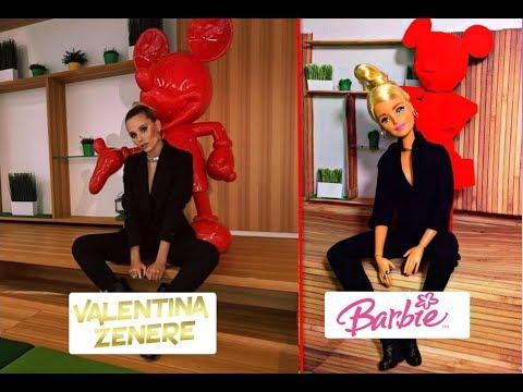 BARBIE imita fotos de VALENTINA ZENERE/ Ambar de SOY LUNA
