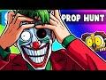 Gmod Prop Hunt Funny Moments - This Joker Map Drove Terroriser Mad! (Garry