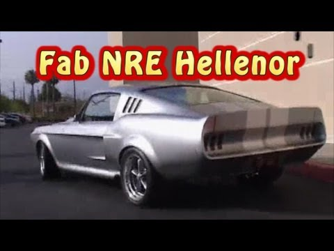 Hellenor Mustang Street Test!  Nelson Racing Engines Fab Hellenor Mustang.  NRE.  Tom Nelson.