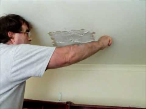 How to Repair a Hole in a Plasterboard Ceiling where a Vent