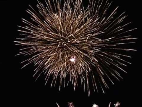 Феєрверк на День Незалежності в Піщанці