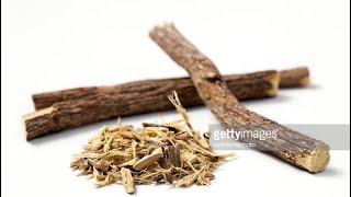 Licorice and Saliva For domination and weight loss