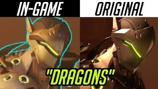 """Dragons"" but it's ALL in-game 