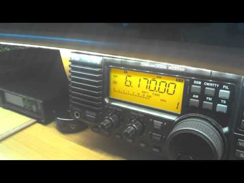 Mike Radio, pirate, The Netherlands 6170 kHz, 09:21 UTC, weak