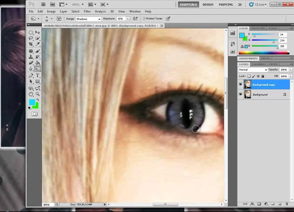 Photoshop Cat Eyes Cats Eyes Effect Photoshop