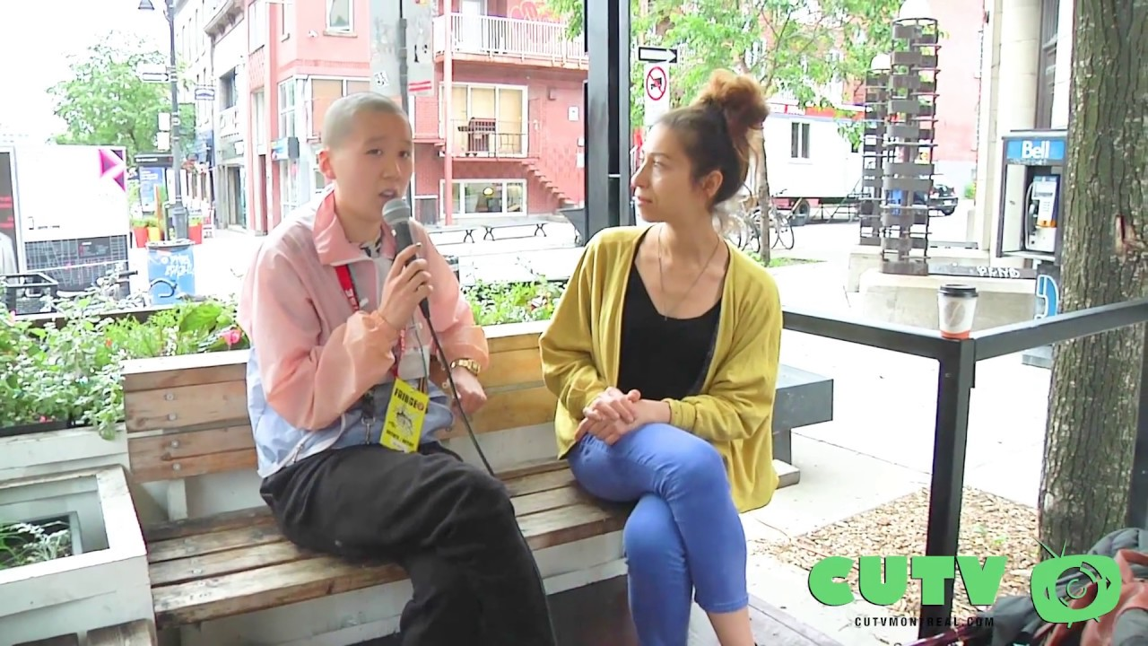 CUTV interview with k xn li for their play Pluck'd at the Montreal Fringe 2017