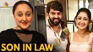 Sayyeshaa's Mom Reacts to her Marriage with Arya | Hot Tamil Cinema News