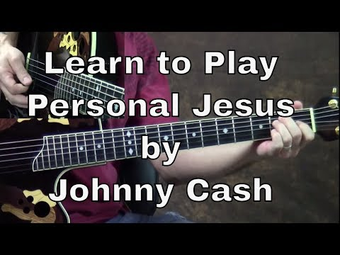 How To Play Personal Jesus By Johnny Cash video