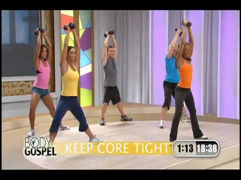Body Gospel Workout with Donna Richardson - Video Sampler