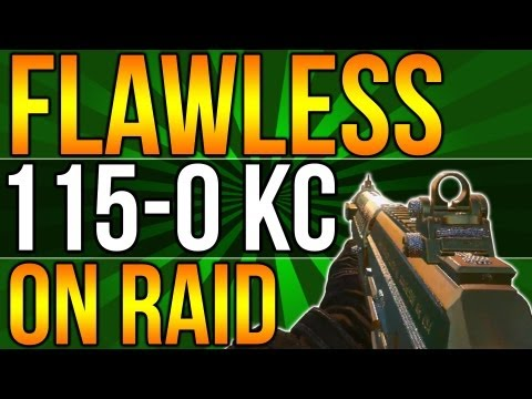 Black Ops 2: Flawless 115-0 Kill Confirmed w/Swat & Msmc!
