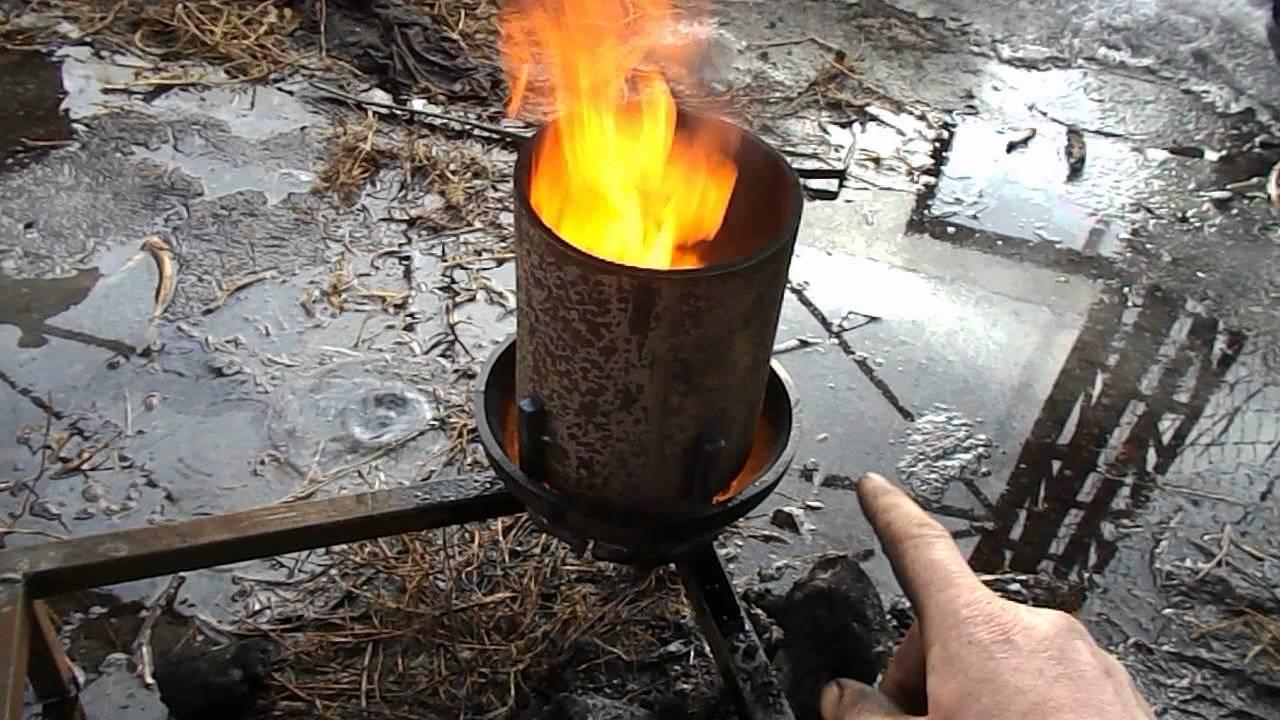 329Горелка в печь на отработанном масле своими руками