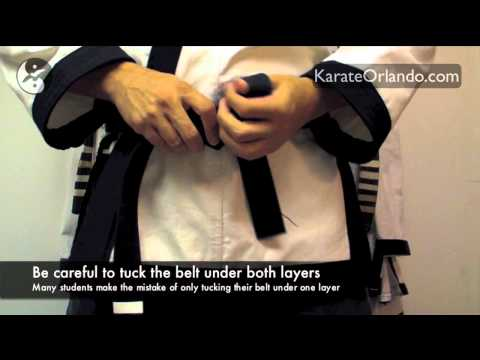 How To Tie Your Tang Soo Do Belt Image 1