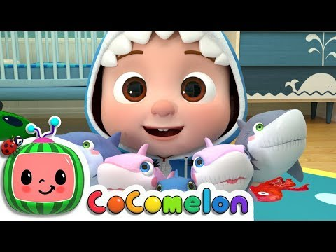 Baby Shark 2 - Hide and Seek | ABCkidTV Nursery Rhymes & Kids Songs