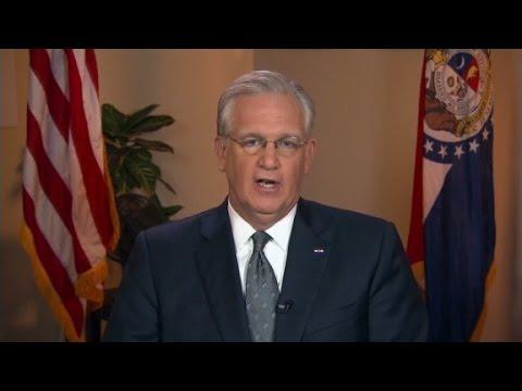 'Missouri Gov Nixon on the investigation