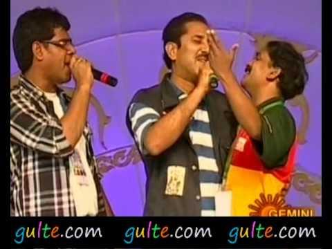 Gulte.com- Vandemataram Srinivas Song At T20 Tollywood Trophy...