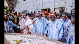 President Muhammadu Buhari Commission Oshodi Transport Interchange  #ambodelegacyprojects