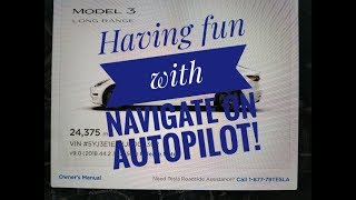 Having fun with Navigate on Autopilot!!!