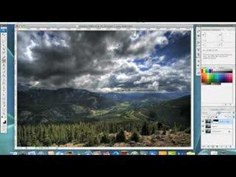 Landscape Photoshop Tutorials Photoshop Tutorial Landscape