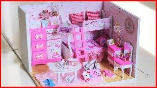 Bộ sưu tập 9 ngôi nhà búp bê mini tự làm - DIY miniature doll house - Đồ chơi chim Xinh
