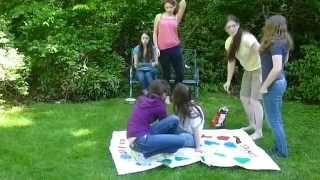 CRAZY GAME OF TWISTER!!!