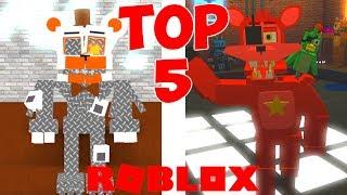 TOP 5 ROBLOX FNAF GAMES!