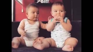 Cặp anh em song sinh dễ thương nhất thế giới/Pair of cute twins in the world