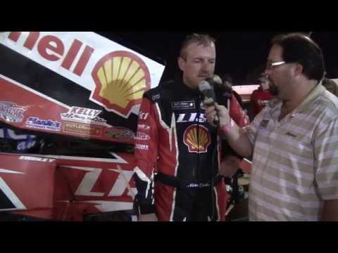 Port Royal Speedway 410 Sprint Car Victory Lane 10-11-14