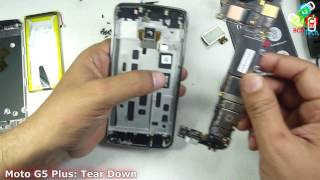Moto G5 Plus: Tear Down & Parts Replacements by BCD Tech Long Video