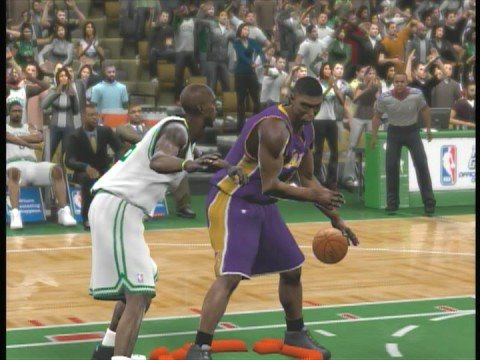 NBA 2K9 CPU Cheats On Offense