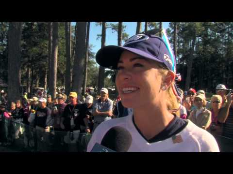 Ace Alert: Paula Creamer during the 2nd Round of Coates Golf Championship