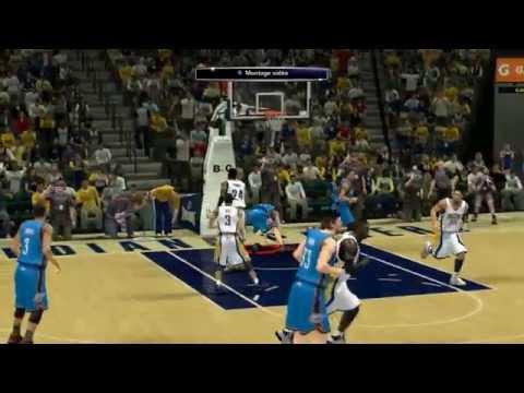 NBA 2K14 - Mon Joueur - OKC vs Indiana Pacers [FR]