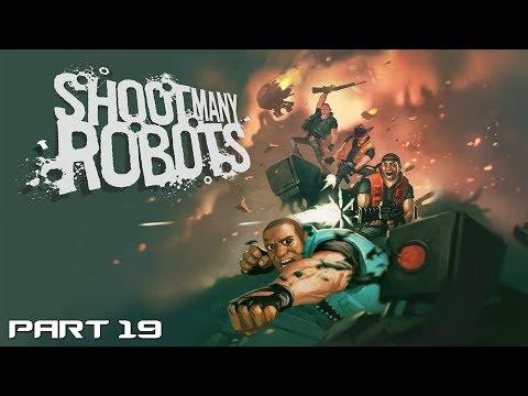 Shoot Many Robots: Walkthrough Part 19 – Mines