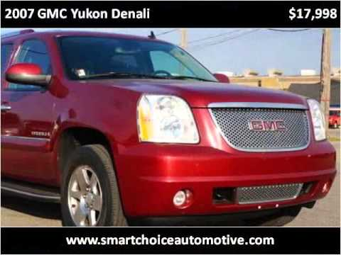 2007 GMC Yukon Denali Used Cars Wyoming MI