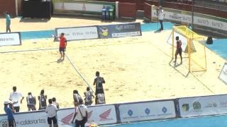 TWG - Beach handball 2013 - Colombia vs Australia (penalty shoot out)