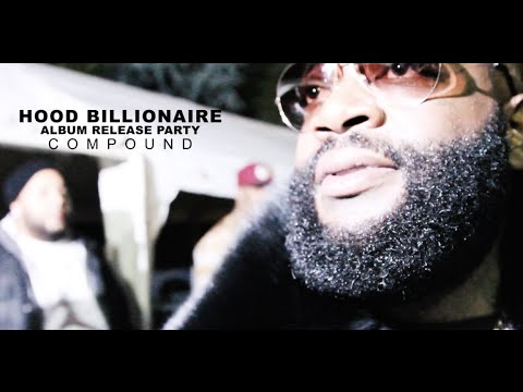 (Video) Rick Ross Holds 'Hood Billionaire' Release Party At Compound In ATL
