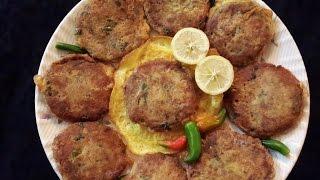 Traditional Beef Shami Kabab in Urdu/Hindi by Azra Salim