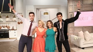 Salsa Dancing with Ingrid Hoffmann & Dr. Mike! - Pickler & Ben