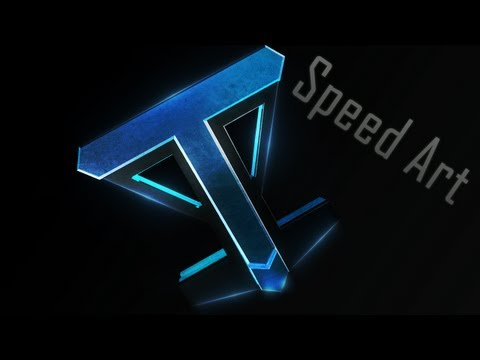 Speed Art - Youtube Avatar - Teky