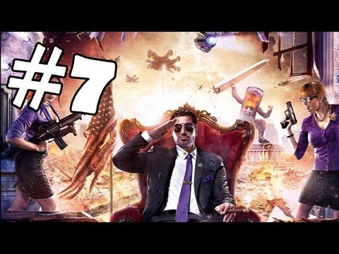 Saints Row 4 Walkthrough Part 7 *SPOILERS* Gameplay Review Let's Play Playthrough PC XBOX 360 PS3